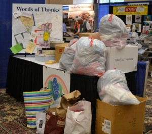DoDuds Apparel Drive at ETS in 2012