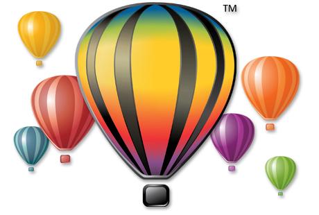 Corel balloons