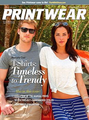 NNEP article in Jan. 2013 Printwear