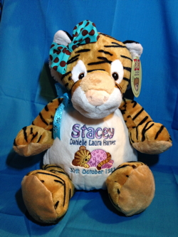 Embroider Buddy tiger