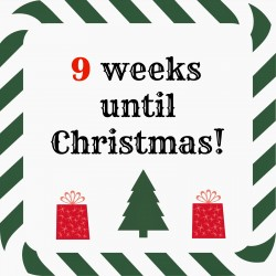 9 weeks until Christmas