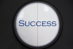 Crosshairs - success