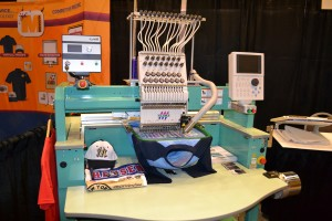 Embroidery Machine at NNEP's Embroidery Mart