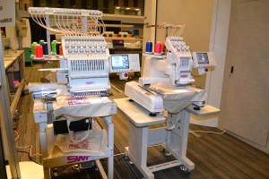 Embroidery Machines at NNEP's Mart