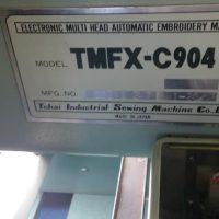 2 TAJIMA TMFX-C904 MACHINES
