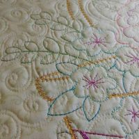 Embroidery and Quilting Combined