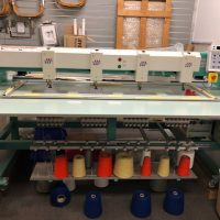 Tajima 4 Head Chenille Machine